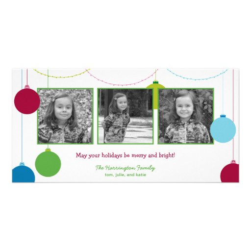 Modern Decorations Christmas/Holiday Cards Picture Card