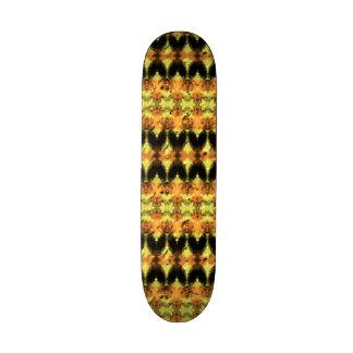 Modern decorative abstract art skateboard