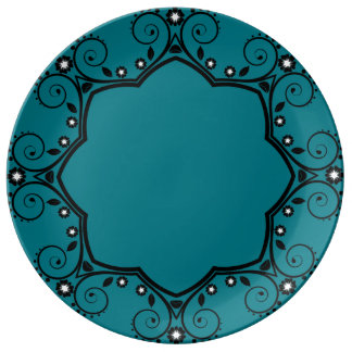 Modern Decorative Porcelain Plate