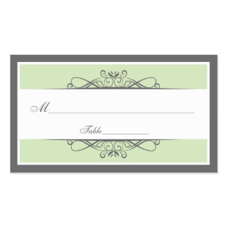 Modern Decorative Special Occasion Placecard Business Cards