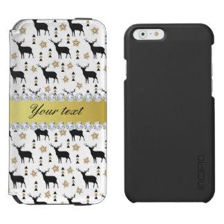 Modern Deer Pattern and Diamonds Incipio Watson™ iPhone 6 Wallet Case