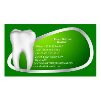 Modern Dental Dentist Business Card