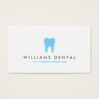 Modern Dentist Blue Tooth Logo, Dental Office