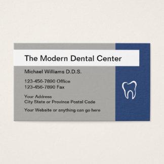 Modern Dentist Office Design Business Card
