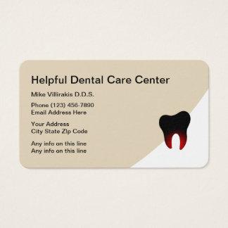 Modern Dentistry Business Cards