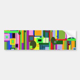 Modern Design Bumper Sticker