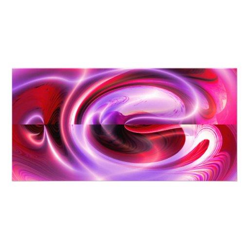 Modern Digital Abstract Photo Card Template