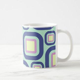 Modern Eames Rectangles 21 Coffee Mug