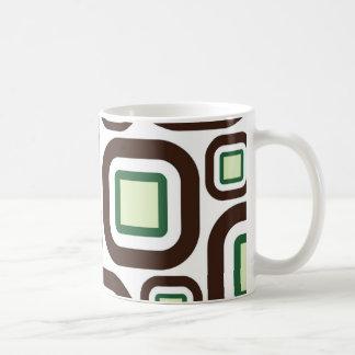 Modern Eames Rectangles 26 Coffee Mug