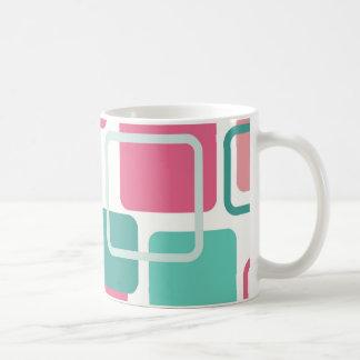 Modern Eames Rectangles 2 Coffee Mug