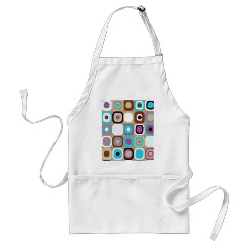 Modern Eames Rectangles 33 Aprons