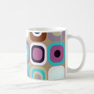 Modern Eames Rectangles 33 Coffee Mug