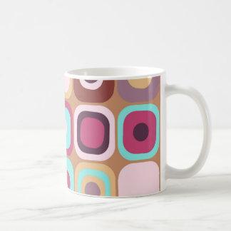 Modern Eames Rectangles 34 Coffee Mug