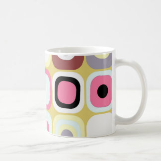 Modern Eames Rectangles 36 Coffee Mug