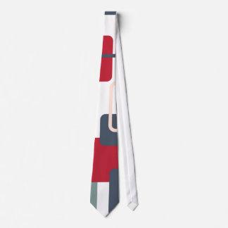 Modern Eames Rectangles 4 Tie