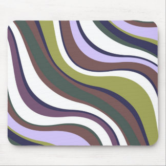 Modern Eames Waves 1 Mouse Pad