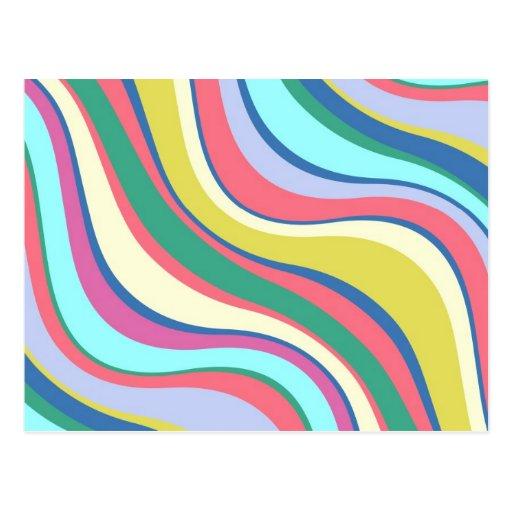 Modern Eames Waves 2 Postcards