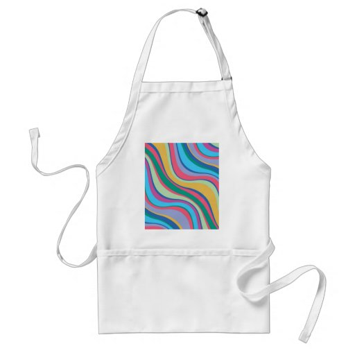 Modern Eames Waves 8 Aprons