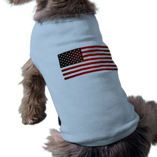 Modern Edgy American Flag Pet Clothing