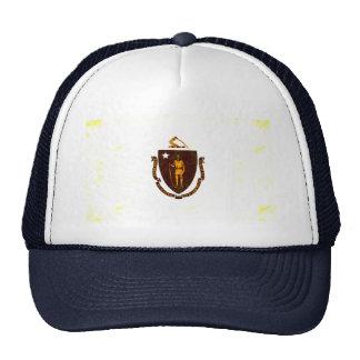 Modern Edgy Massachusettsan Flag Hats
