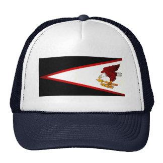 Modern Edgy Samoan Flag Trucker Hat
