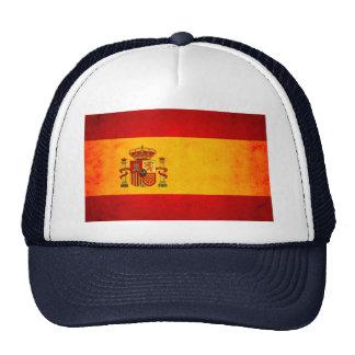 Modern Edgy Spanish Flag Hats