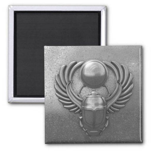 Modern Egyptian Scarab Magnets