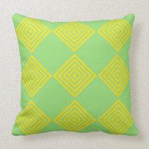 Modern Elegance Cotton Throw Pillow