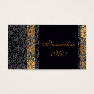 Modern Elegant Black/Gold Trendy Wedding Stylish