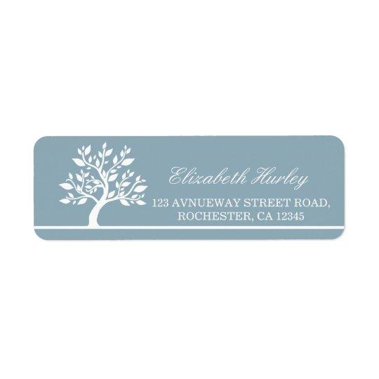 Modern Elegant Classy Tree Address Label Templates