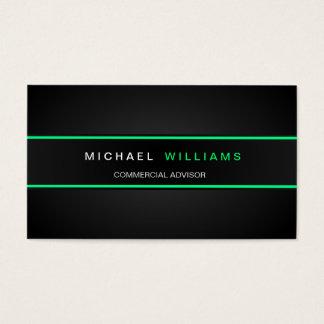 MODERN ELEGANT MINIMALIST PROFESSIONAL BUSINESS CARD