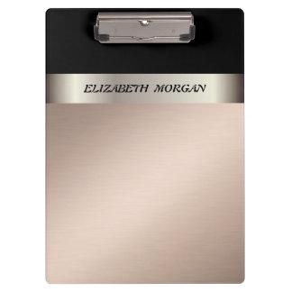 Modern Elegant ,Staylish,Striped-Personalized Clipboard