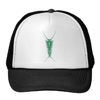 Modern Embroidery 1 Mesh Hats