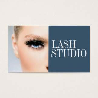 Modern Eyelash Extensions Aesthetician Card