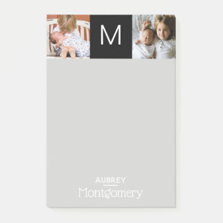 Modern Family Photos Personalized Post-it Notes