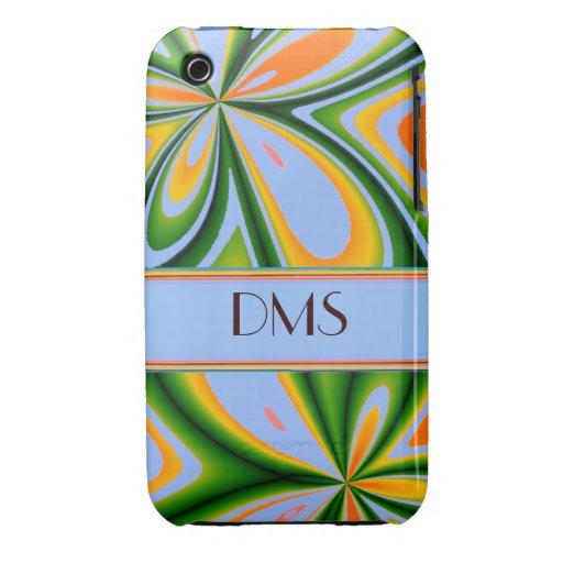 Modern Fashion Unique Pattern Floral Case iPhone 3 Case-Mate Case