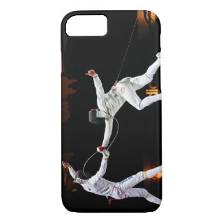 Modern Fencing Sword Fighting Dual iPhone 8/7 Case