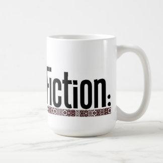 Modern Fiction: mug! Basic White Mug