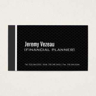 Modern Financial Planner Business Cards