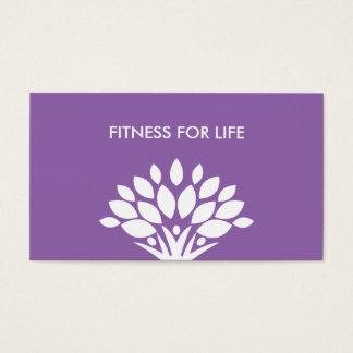Modern Fitness Business Card