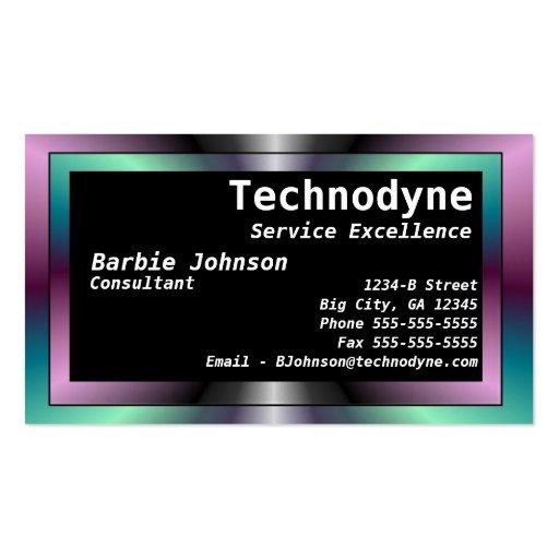 Modern Flair Business Card