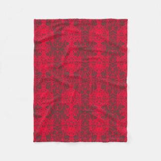 modern fleece blanket