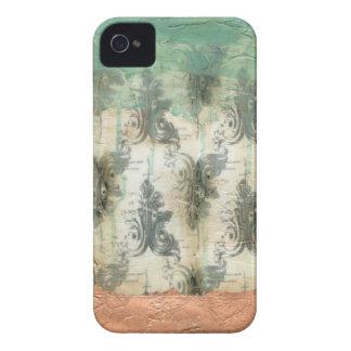 Modern Fleur De Lis Design iPhone 4 Covers