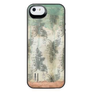 Modern Fleur De Lis Design iPhone SE/5/5s Battery Case