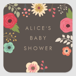 Browse the Baby Shower Sticker Collection and personalise by colour, design, or style.