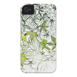Modern Floral Background 234 Case-Mate iPhone 4 Case