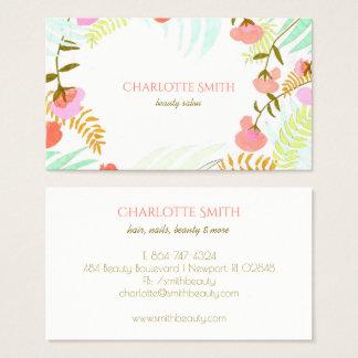 Modern Floral Business Card