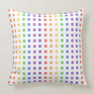 Modern Floral Colorful Pillow