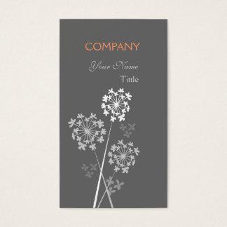 Modern Floral Elegant Fancy Dream Professional Business Card