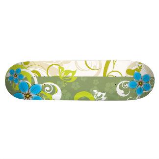 Modern Floral Ornament 19.7 Cm Skateboard Deck